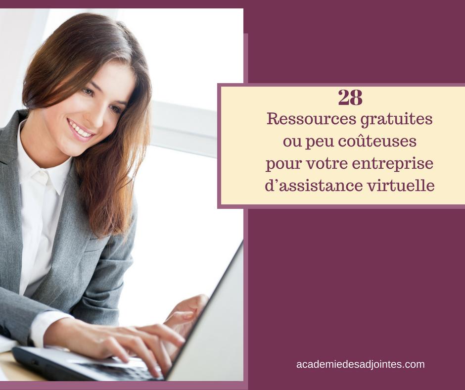 28 ressources abordables pour les adjointes virtuelles efficaces
